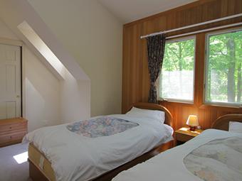 写真は、エクセレントの寝室